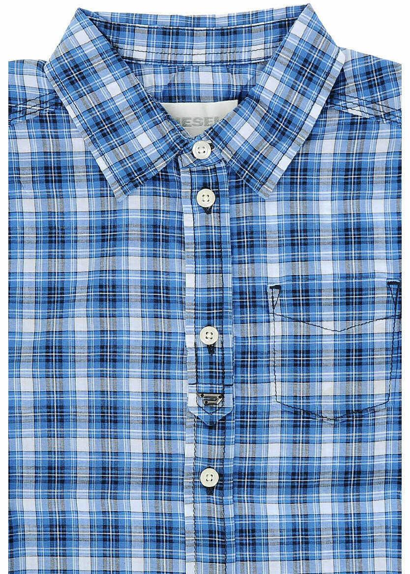 Camasi Fete Diesel Kids Cotton CYMEL Shirt