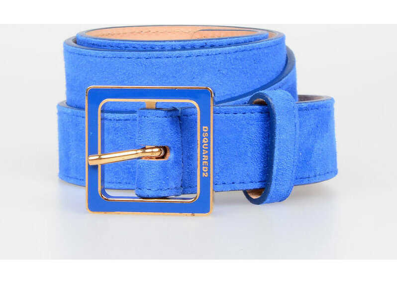 DSQUARED2 30mm suede Leather Belt N/A