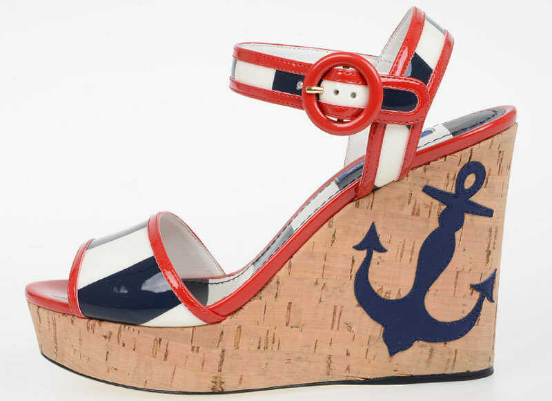 Dolce & Gabbana Kork Wedges KEIRA N/A