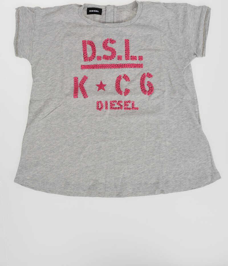 Diesel Kids Embroidery TATADE T-shirt N/A