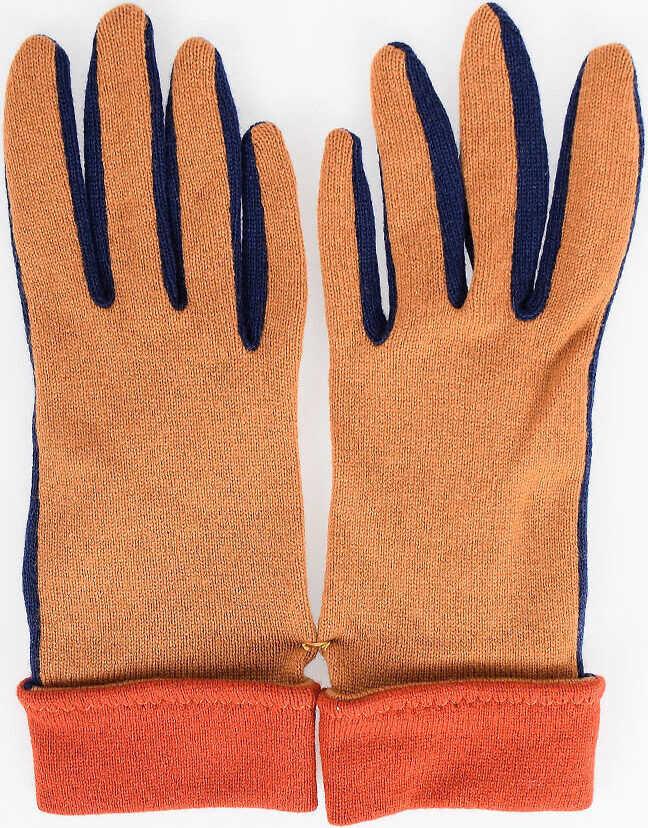 Bottega Veneta Cashmere Gloves MULTICOLOR