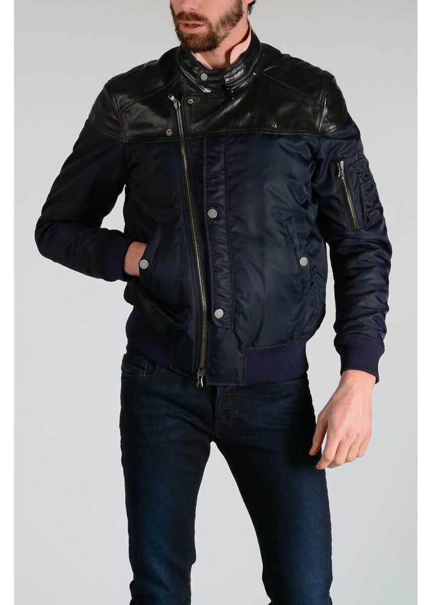 Diesel Leather Fabric JACKETS LIDOR N/A