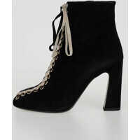 Botine Suede TRESSAGE CHUNKY Booties Femei