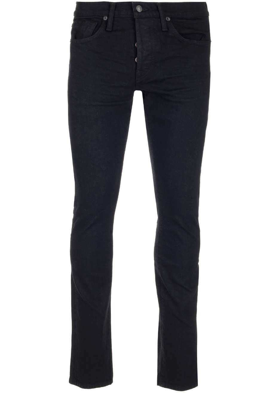 Tom Ford Brj05Tfd001K09 Cotton Jeans BLACK