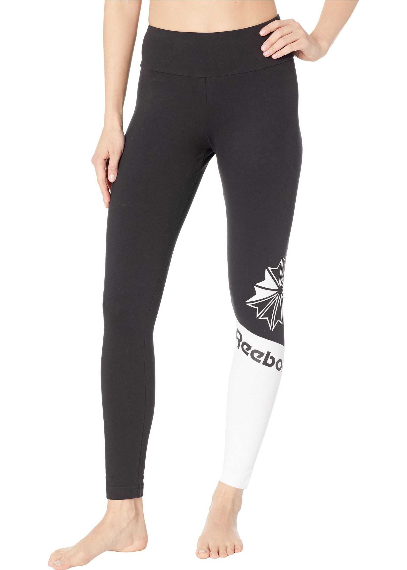 Reebok Activchill Logo Leggings Black