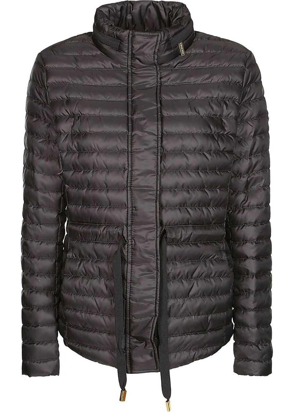 Michael Kors Polyester Outerwear Jacket BLACK