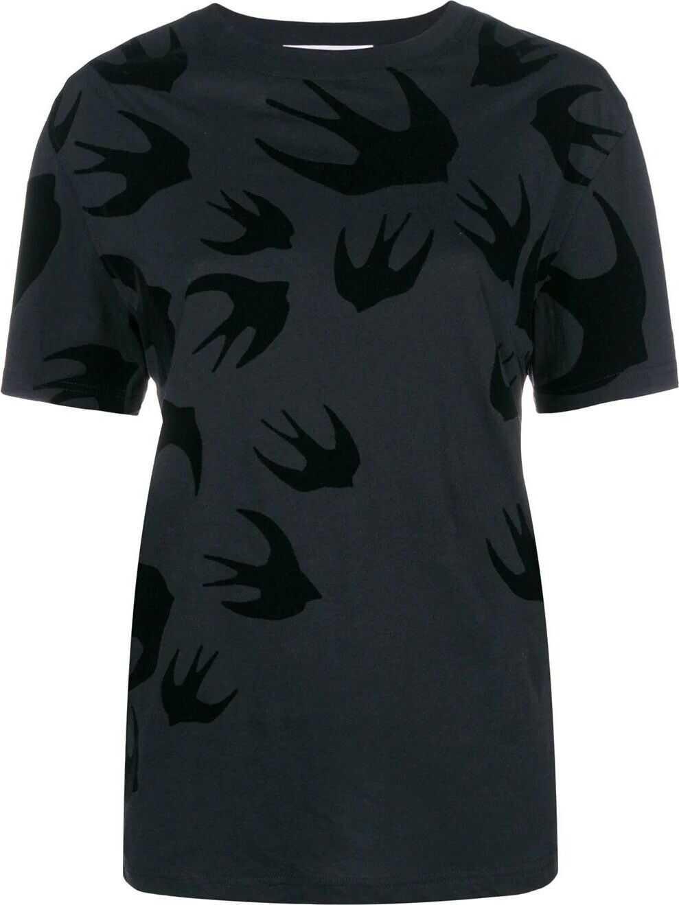 MCQ Alexander McQueen Cotton T-Shirt BLACK