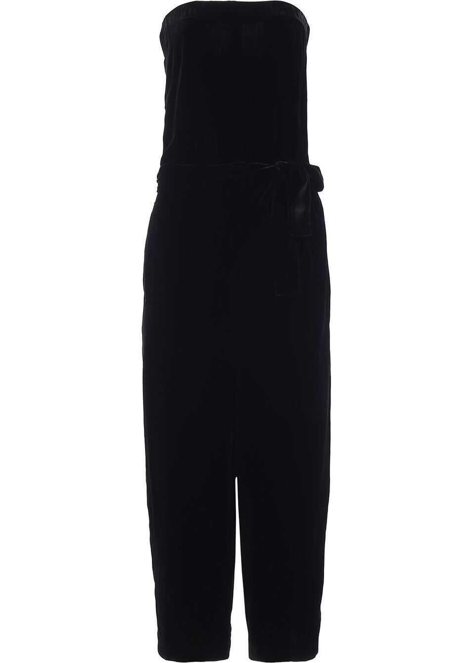 MCQ Alexander McQueen Viscose Jumpsuit BLACK