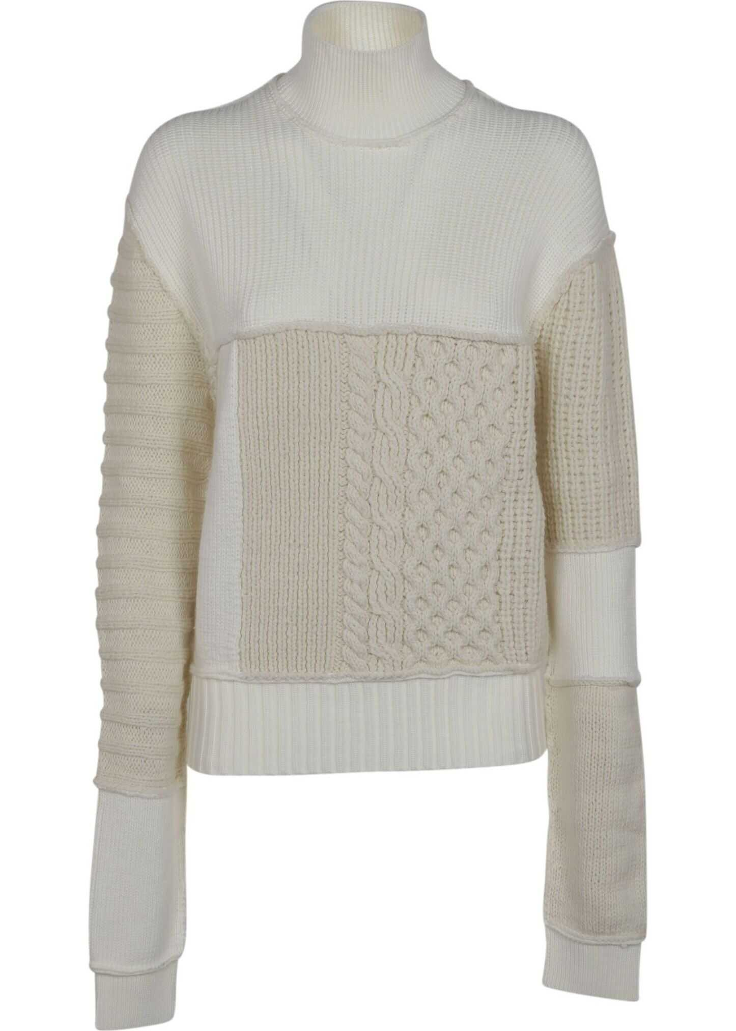 MCQ Alexander McQueen Wool Sweater WHITE
