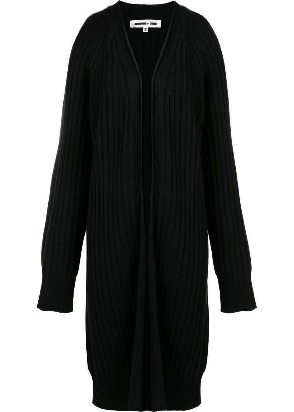 MCQ Alexander McQueen Wool Cardigan BLACK
