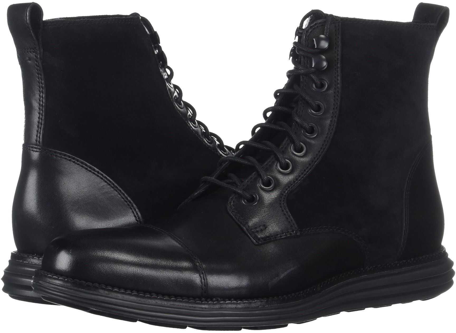 Cole Haan O.Original Grand Cap Toe Boot II Black/Black