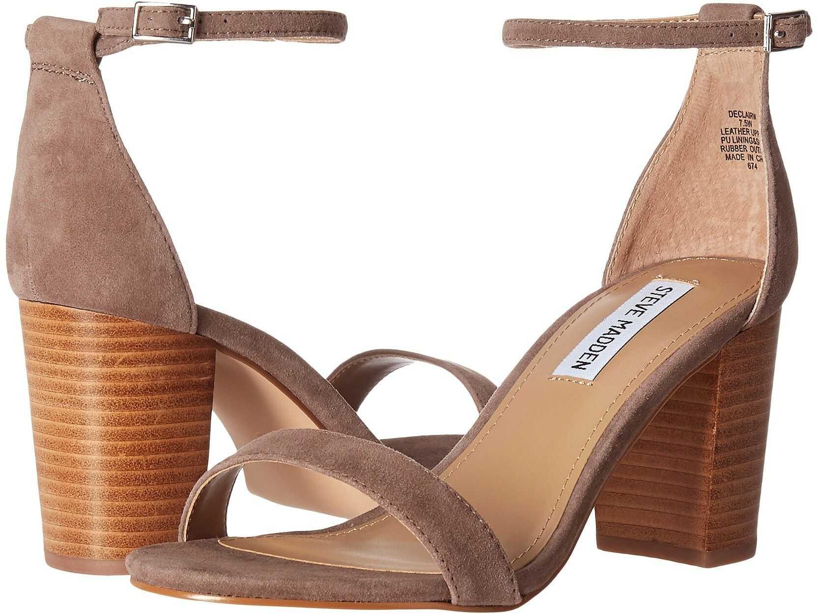 Steve Madden Exclusive - Declair Block Heeled Sandal Grey Multi