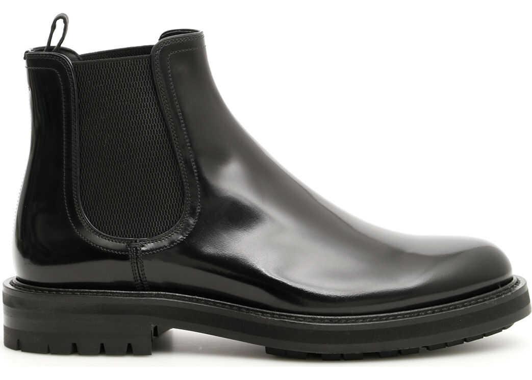Dolce & Gabbana Brushed Calfskin Boots NERO