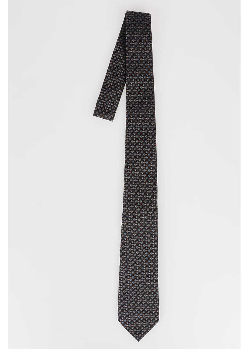 Gucci Bee Embroidered Tie N/A