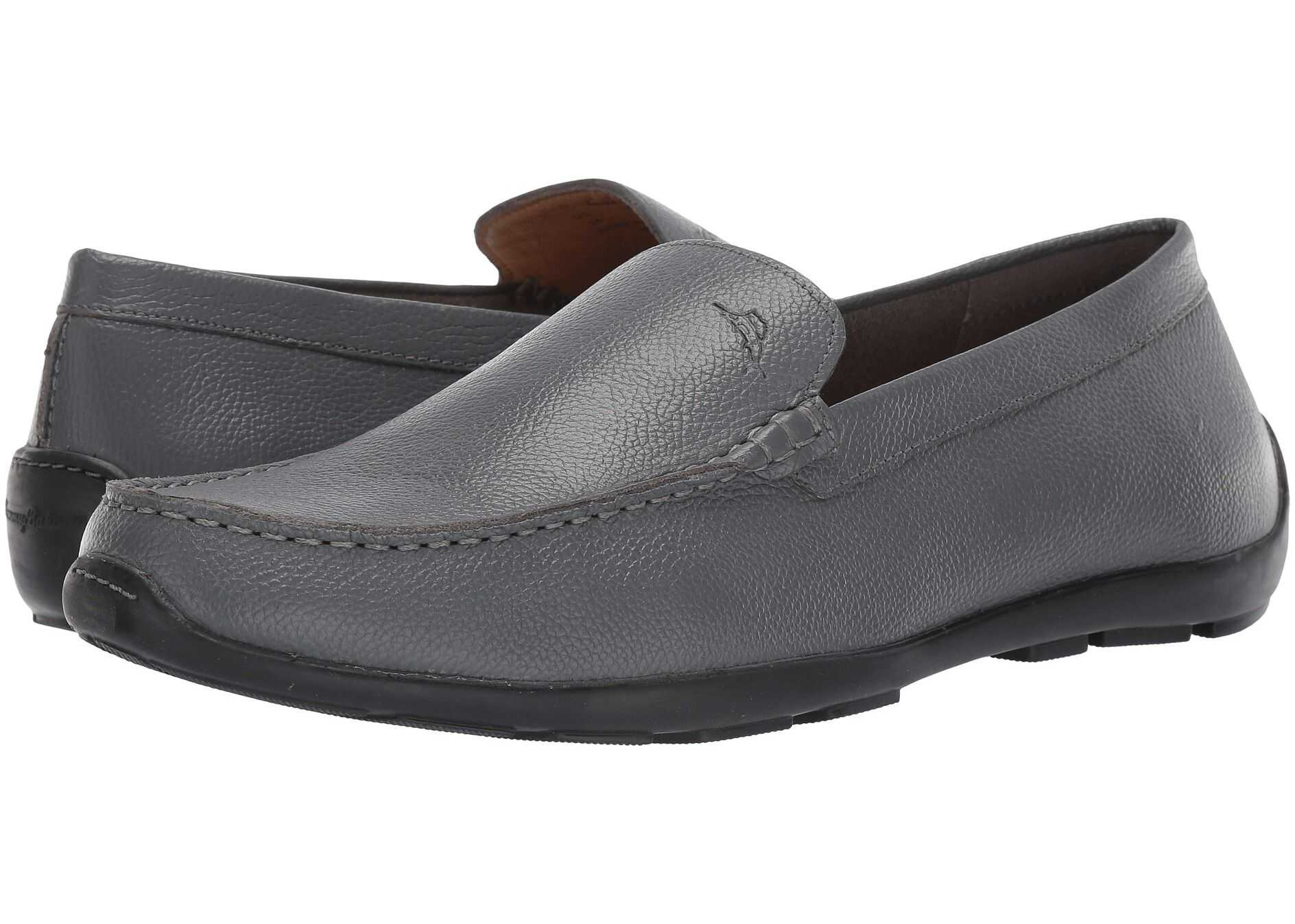 Tommy Bahama Acanto Grey Tumbled Leather