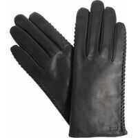 Manusi Black Leather Gloves Femei