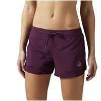Pantaloni Scurti Workout Ready Woven Mesh Details W Femei