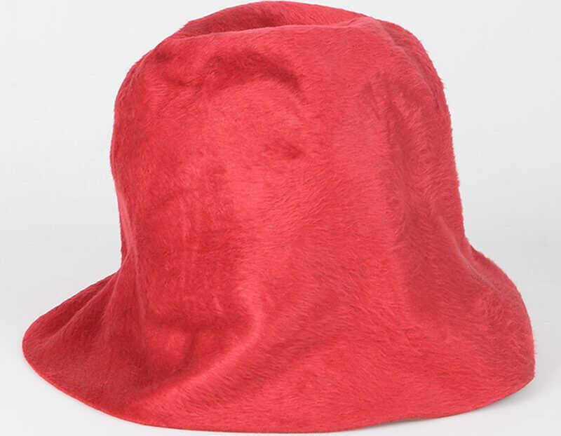 Reinhard Plank Rabbit Fur Hat RED