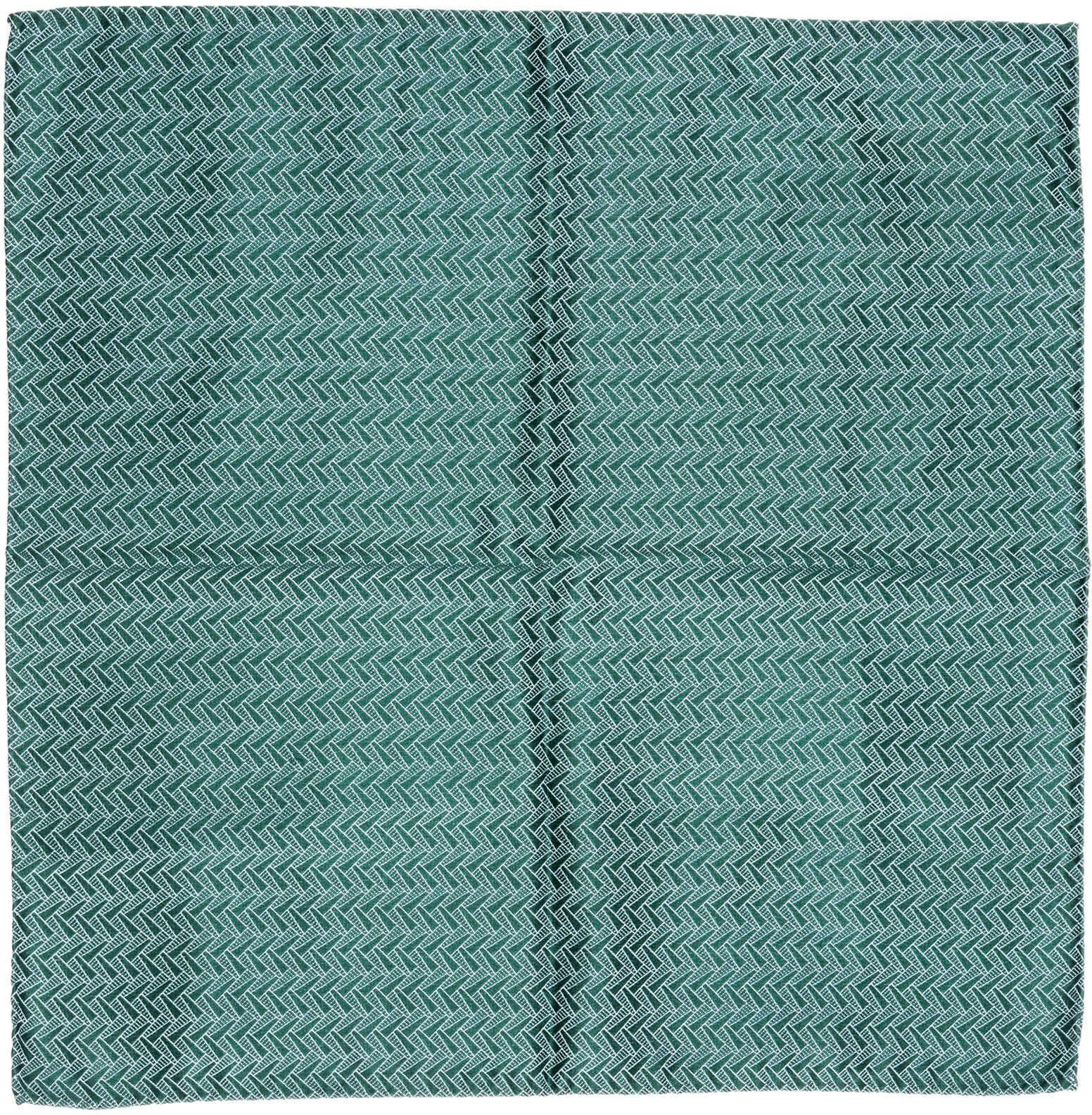 Emporio Armani Pocket Square Green
