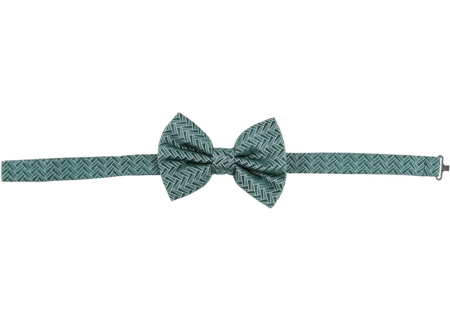 Emporio Armani Bow Tie Green