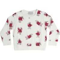 Imbracaminte Cream-Colored Printed Pullover Fete