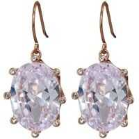 Cercei Shine On Oval Drop Earrings Femei