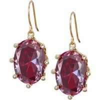 Cercei Shine On Oval Drop Earrings Femei