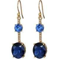 Cercei Bright Ideas Linear Asymmetrical Drop Earrings Femei