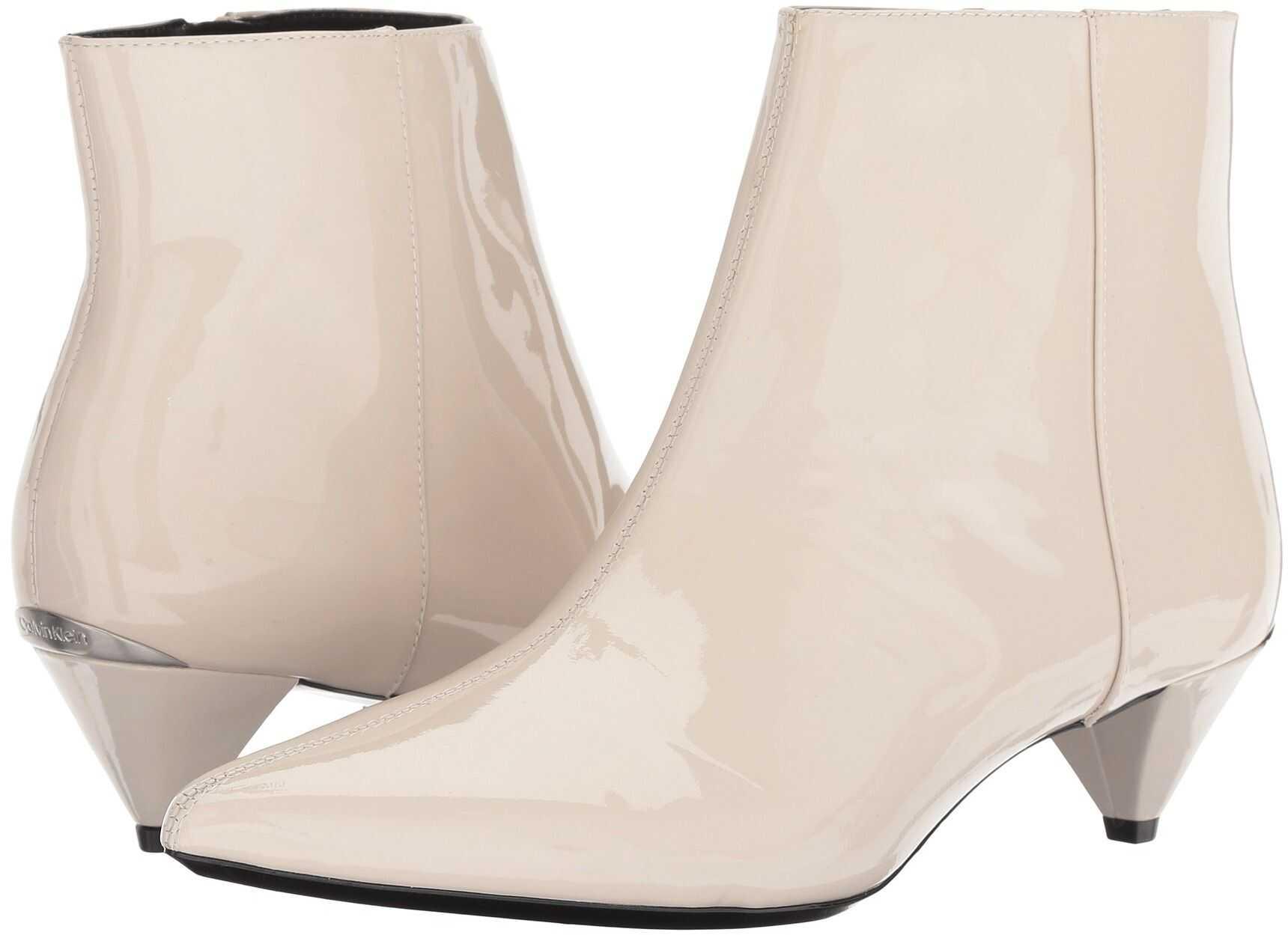 Calvin Klein Larissa Soft White Patent