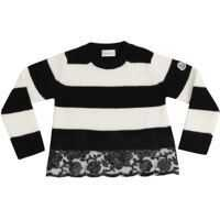 Imbracaminte Striped Black And White Pullover Fete