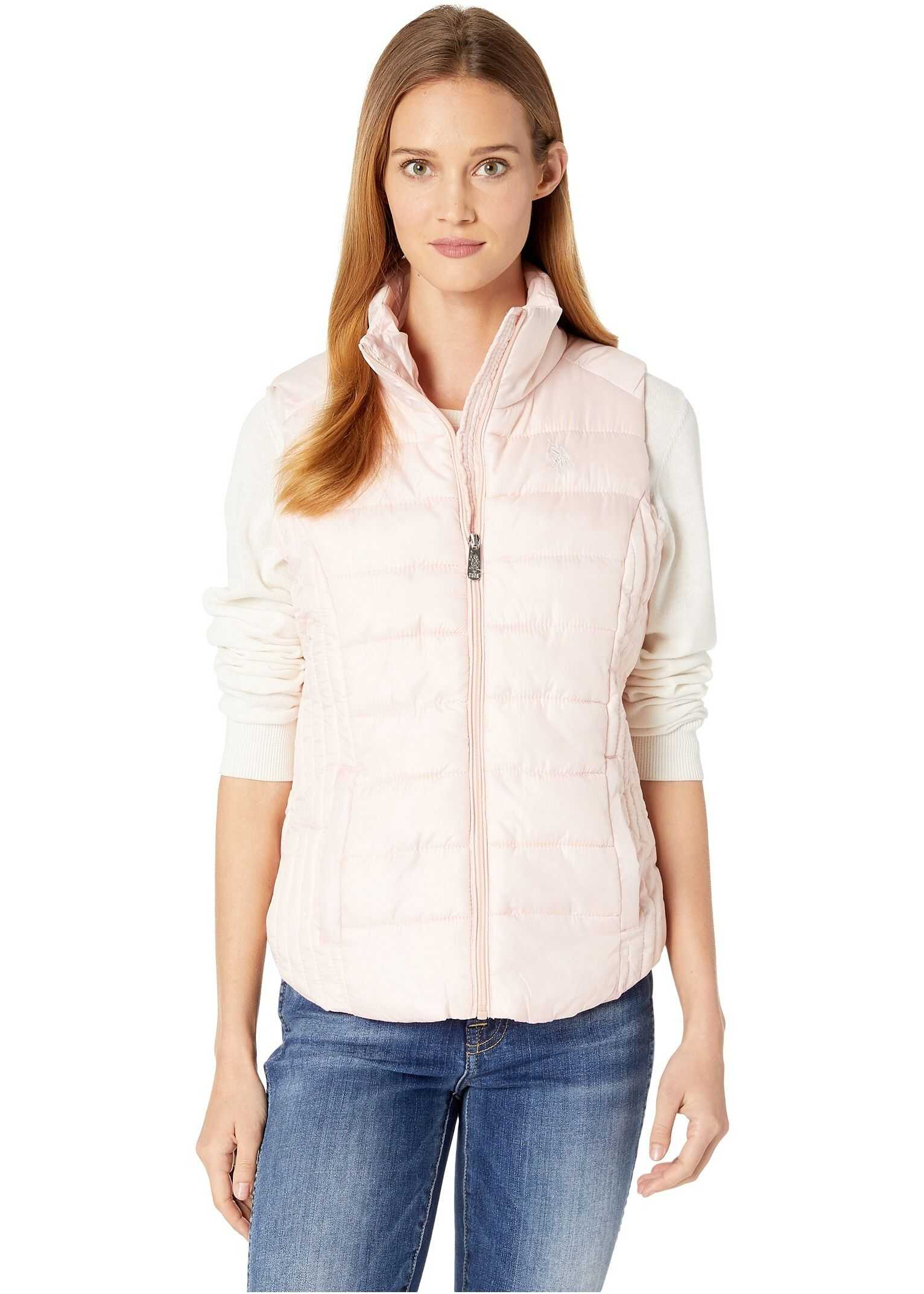 U.S. POLO ASSN. Basic Vest Blush
