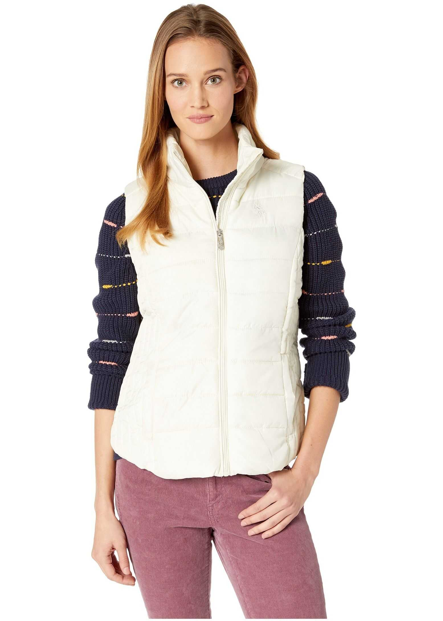 U.S. POLO ASSN. Basic Vest Marshmallow