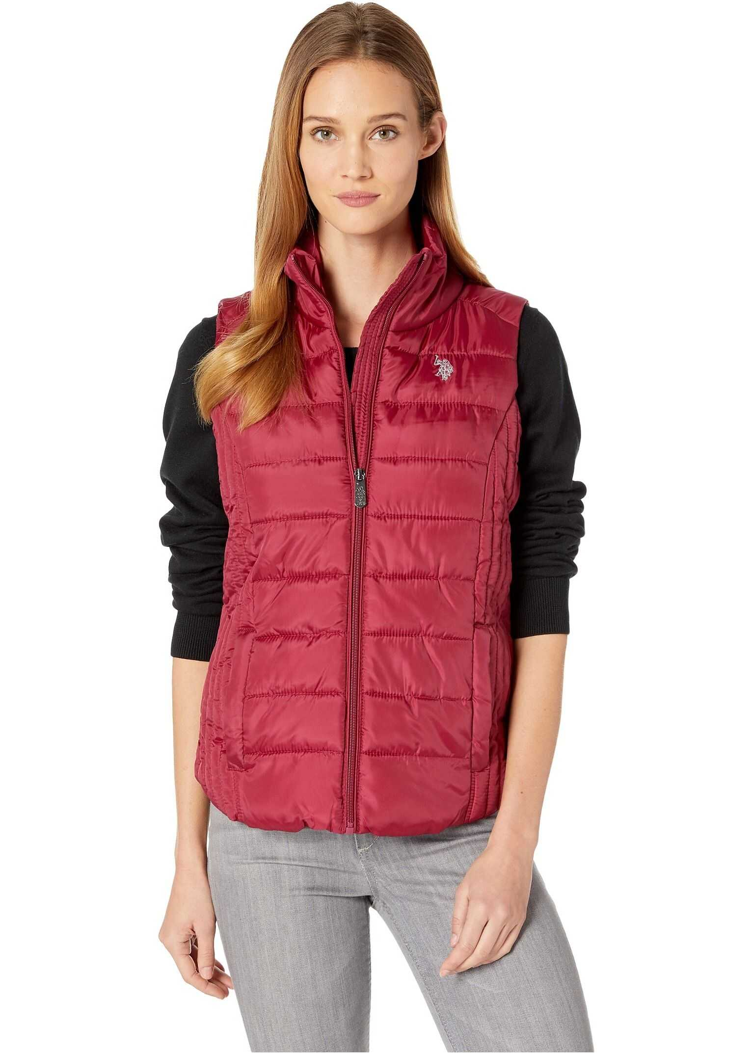 U.S. POLO ASSN. Basic Vest Rose Thicket