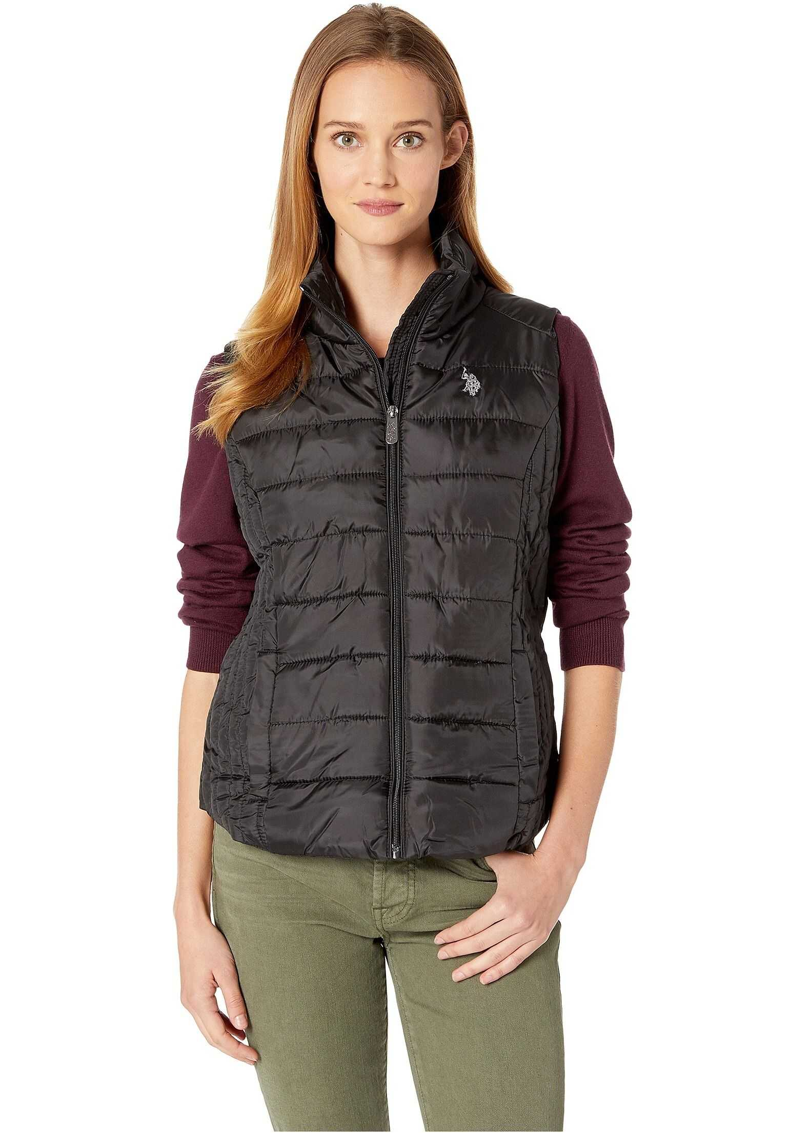 U.S. POLO ASSN. Basic Vest Black