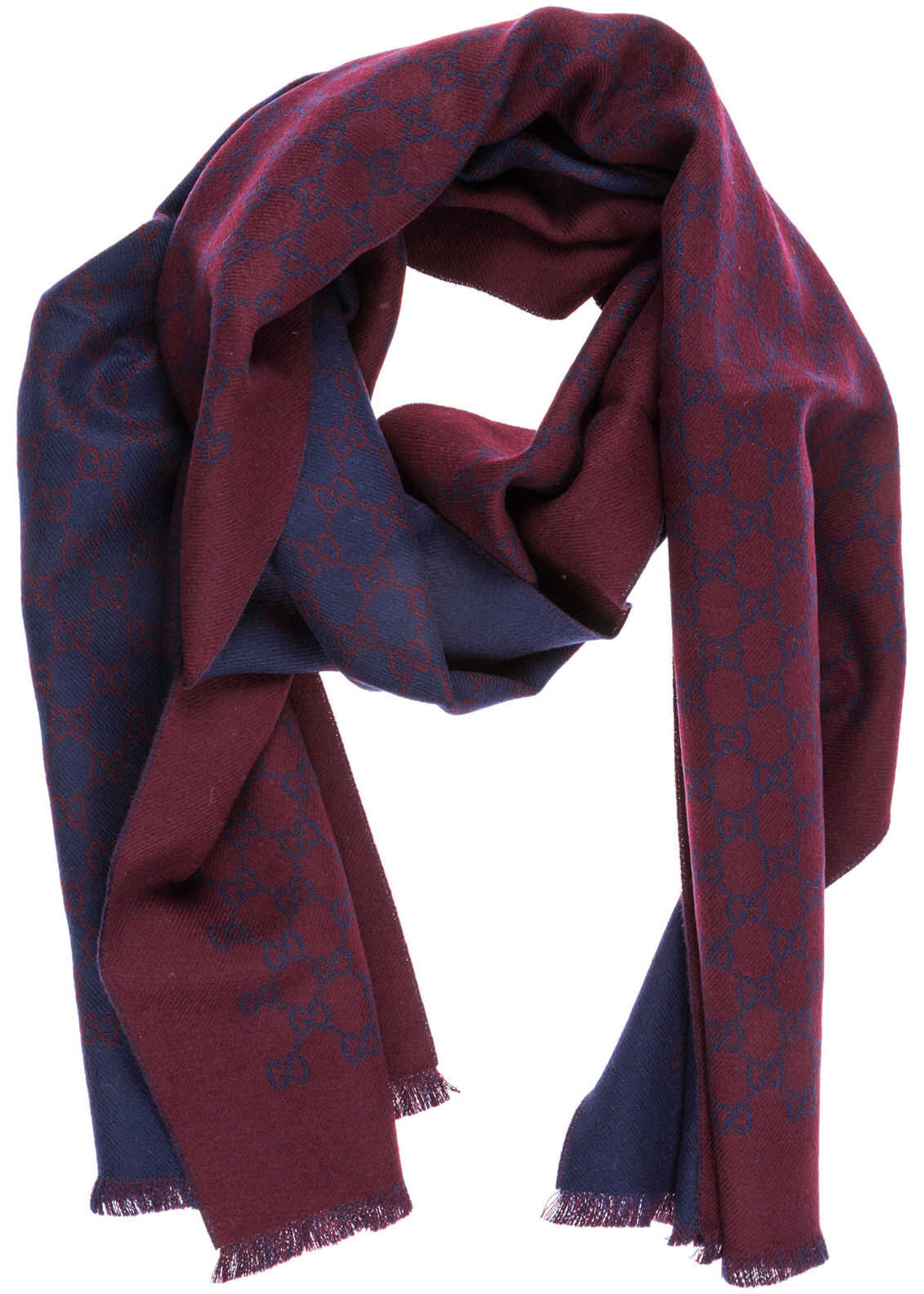 Gucci Wool Scarf Red
