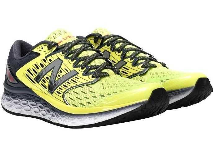 8f82be1caf4aa4 Tenisi   Adidasi New Balance Fabric Sneakers Yellow Barbati ...