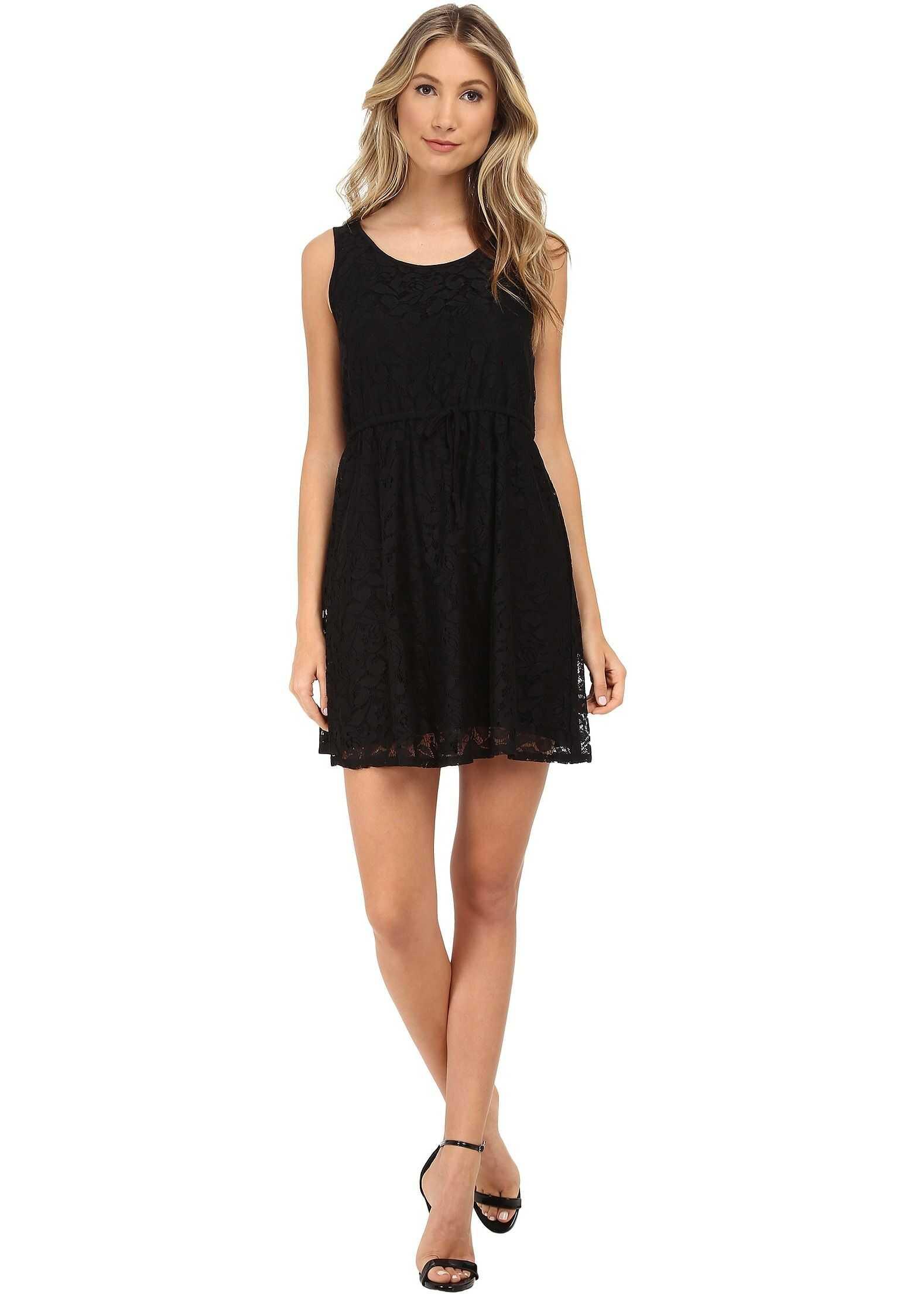 kensie Botanical Lace Dress KS5K7556* Black