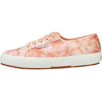 Tenisi & Adidasi 2750 Velvet Shiny Wrinkled Trainers In Pink Peach Femei