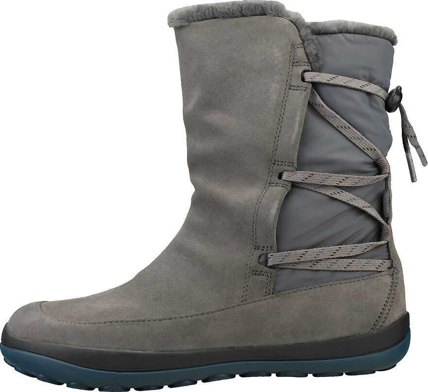 Camper Peu Pista Gore-Tex Ankle Boots In Grey Grey