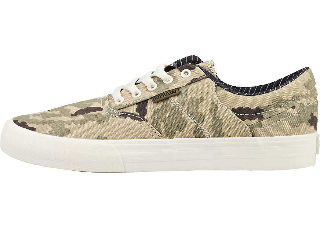 Supra Cobalt Trainers In Camouflage Green