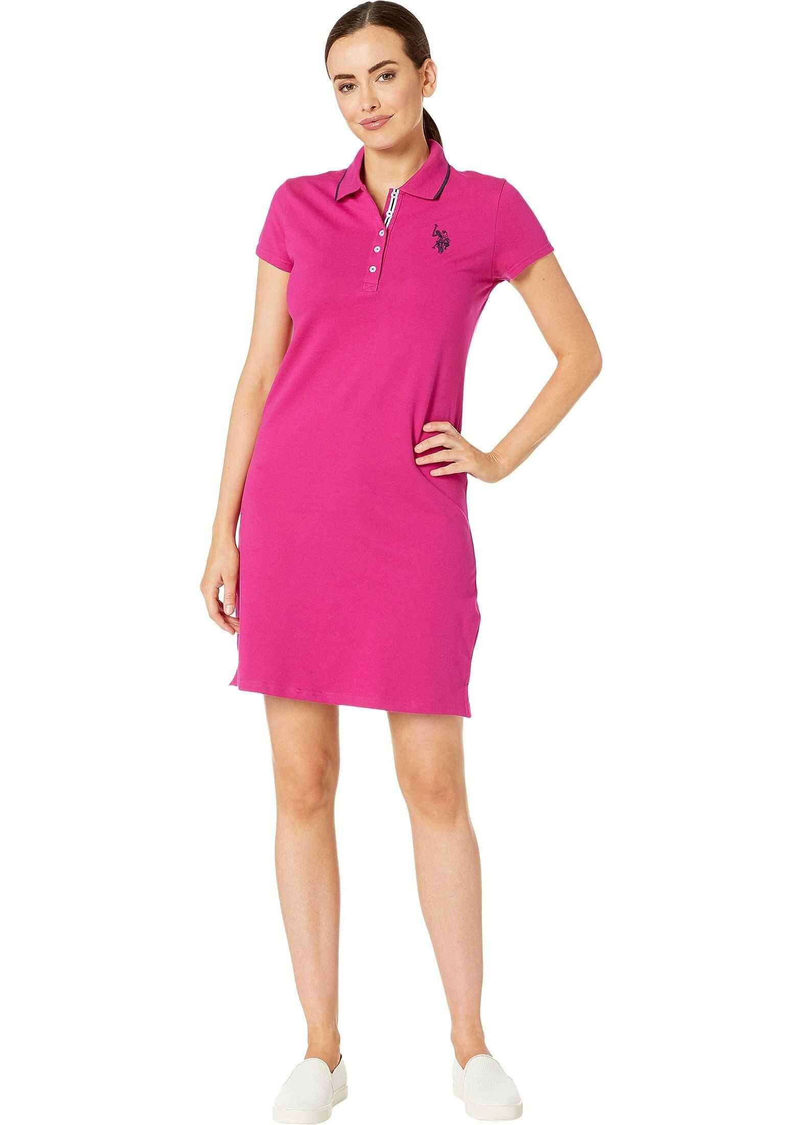 U.S. POLO ASSN. Plain Polo Dress Le Rouge
