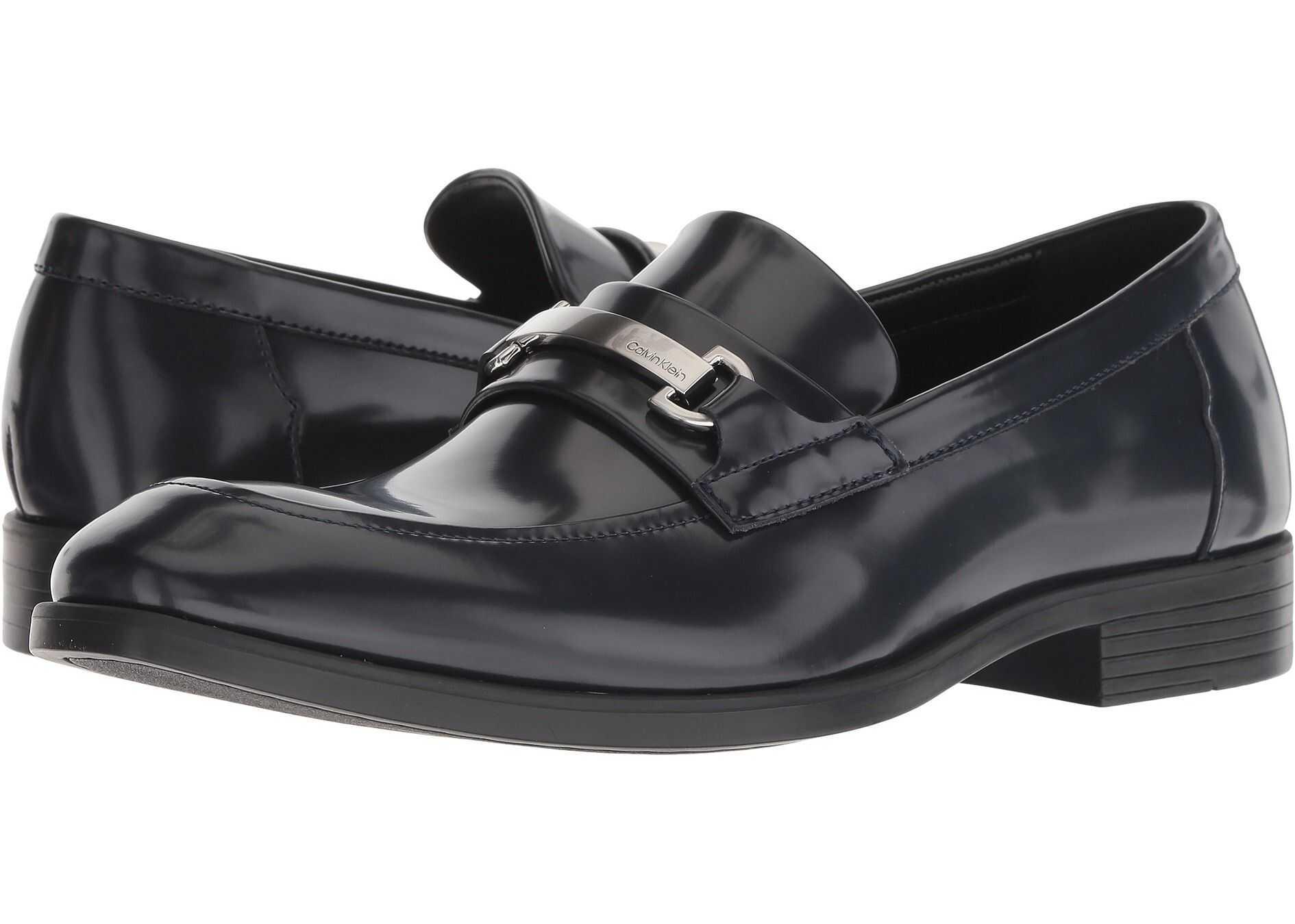 Calvin Klein Craig Dark Navy Box Leather