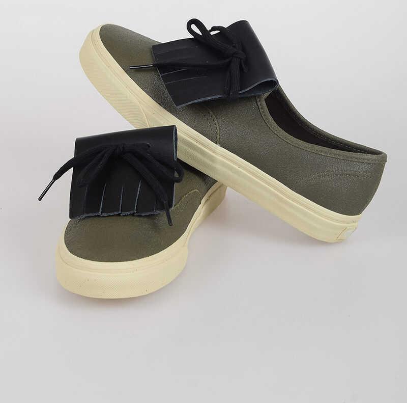 Vans MARNI Leather Sneakers N/A