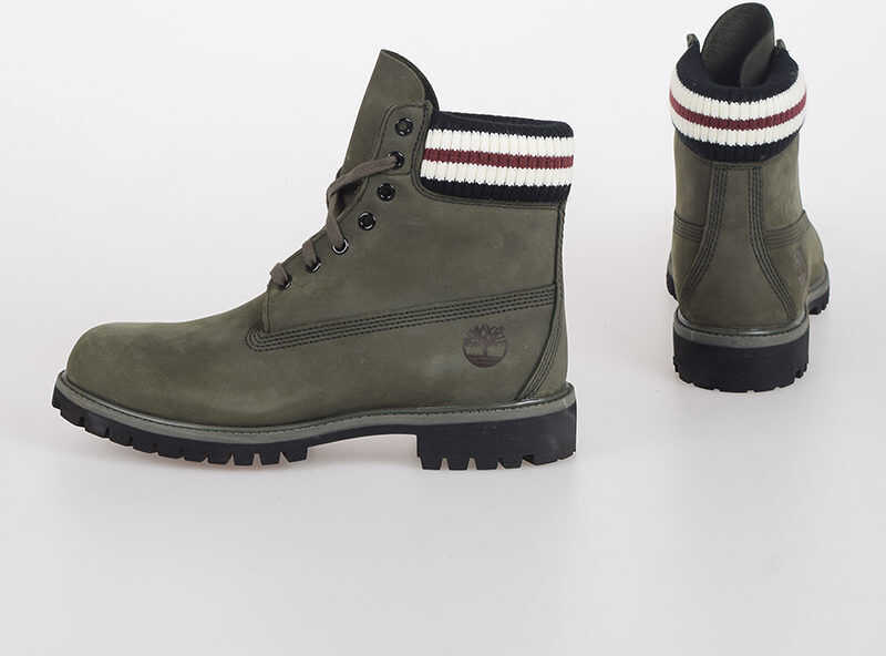 Timberland MARNI Leather Combat Boots N/A
