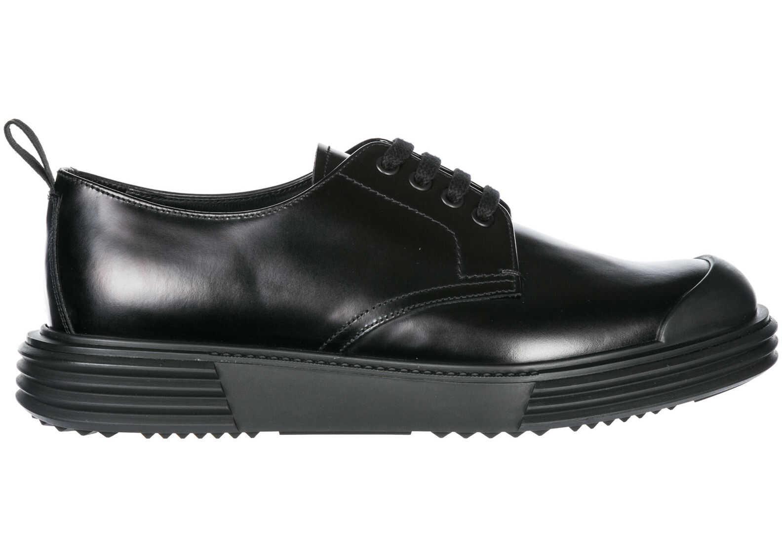 Prada Shoes Derby Black