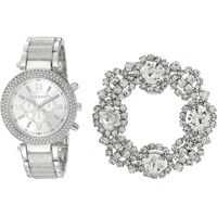 Ceasuri Fashion Watch and Shoe Clip Set SMWS025 Femei