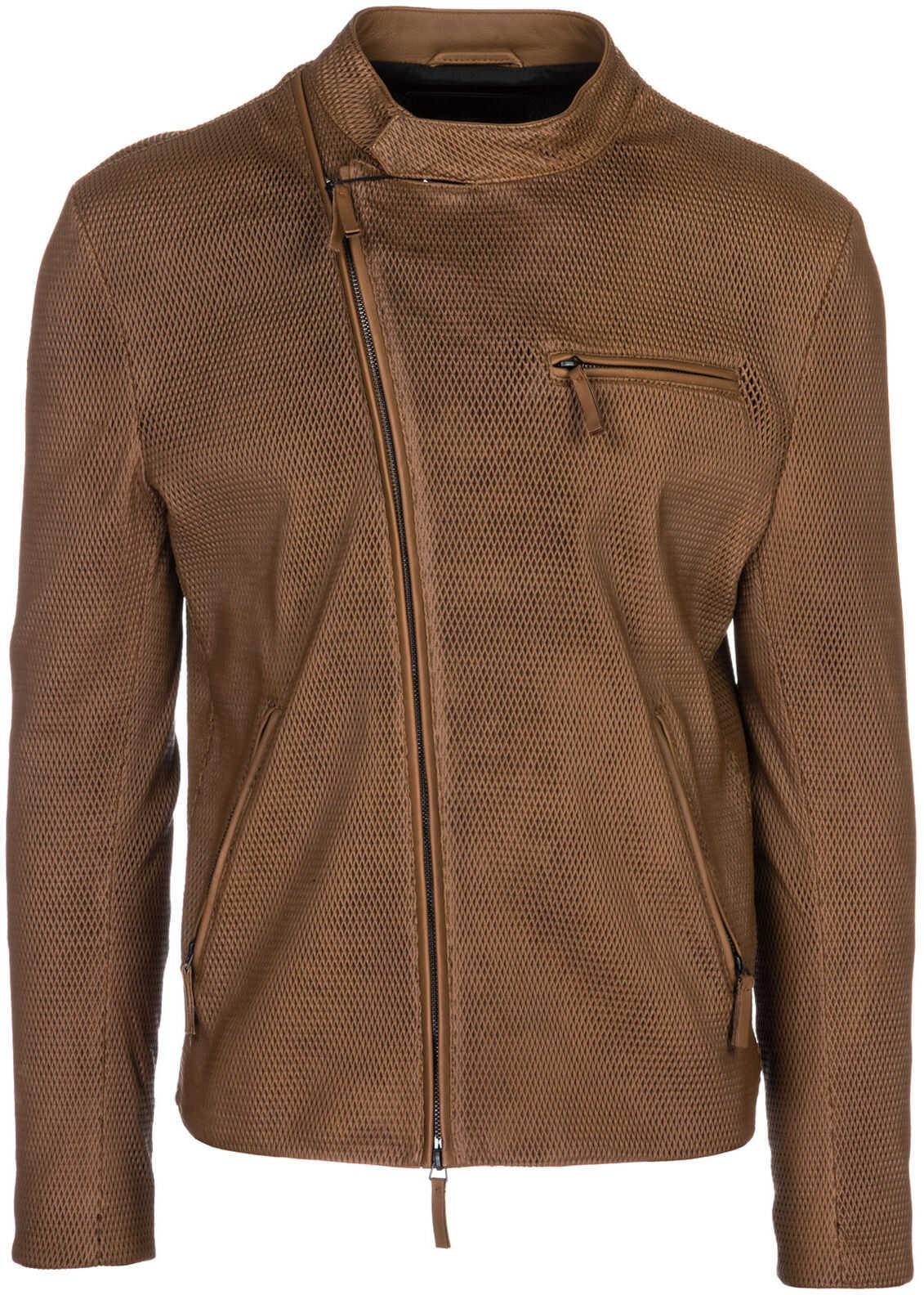 Emporio Armani Jacket Blouson Brown