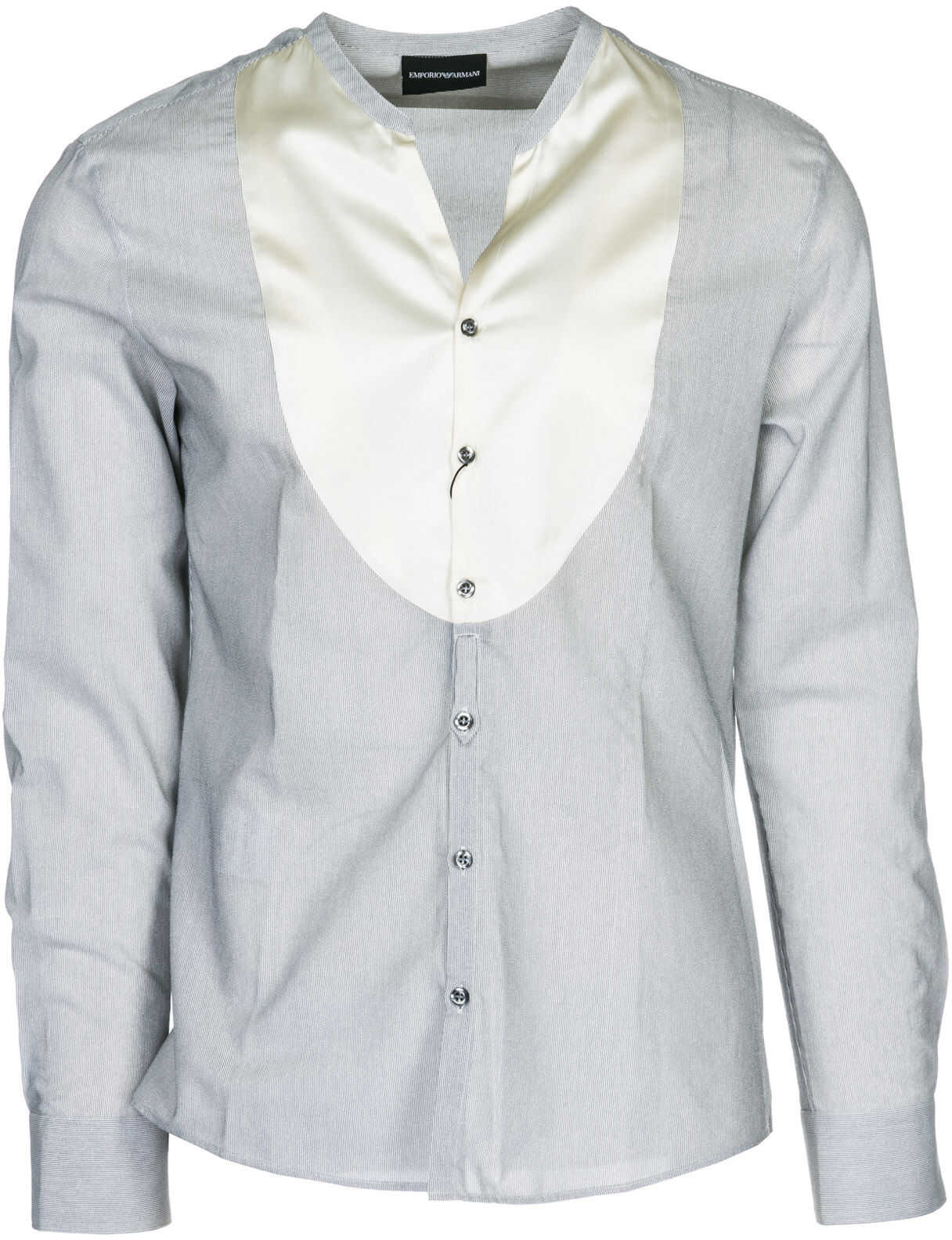 Emporio Armani Dress Shirt Grey imagine