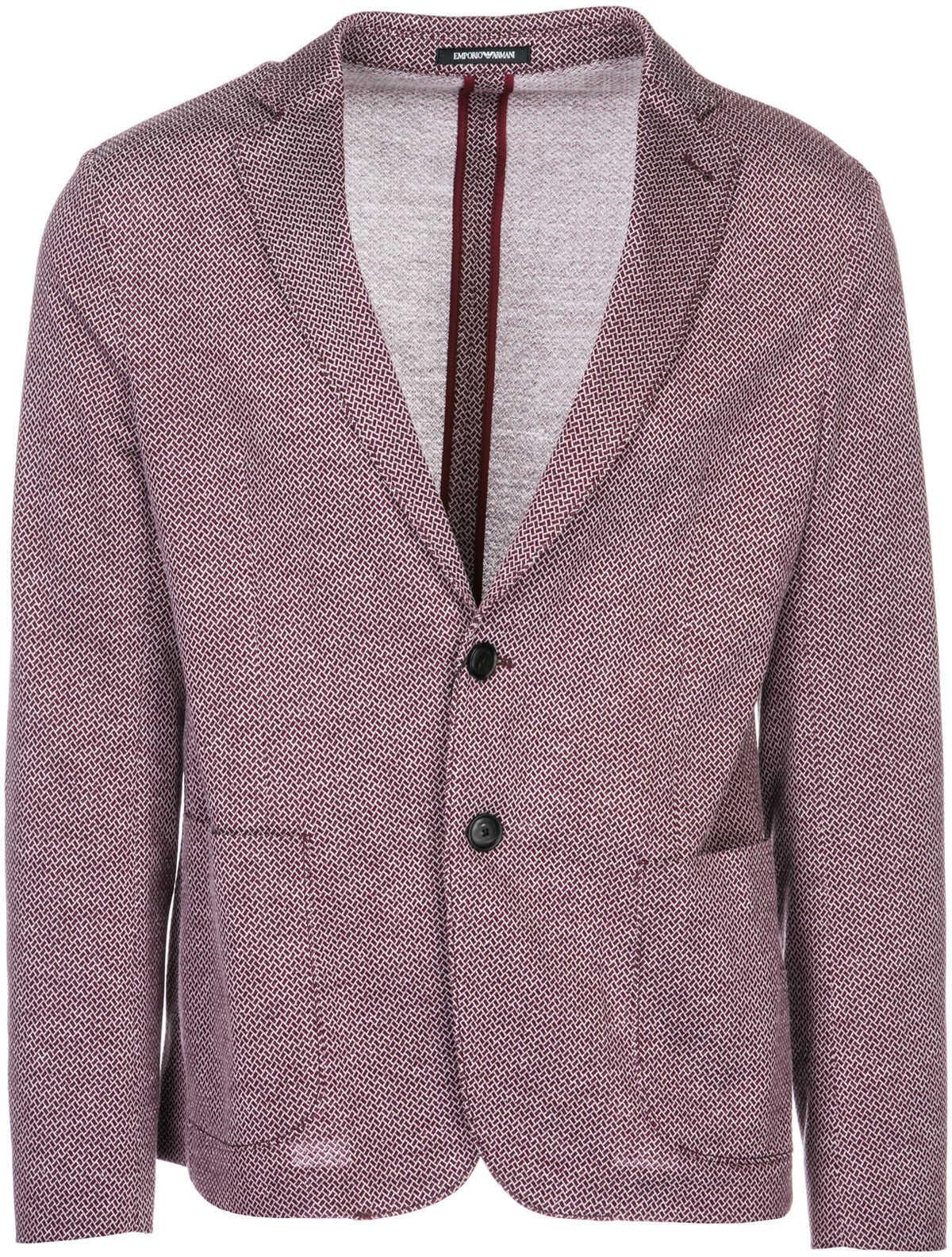 Emporio Armani Jacket Blazer Red imagine