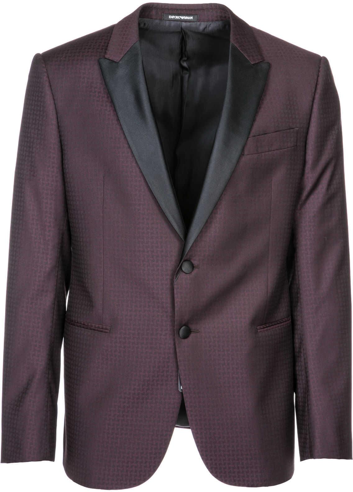 Emporio Armani Jacket Blazer Purple